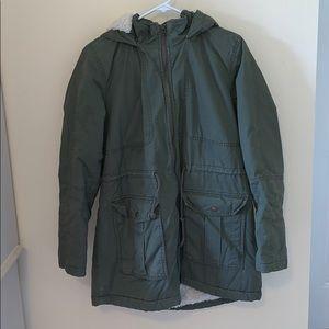 Gap fluffy trench coat